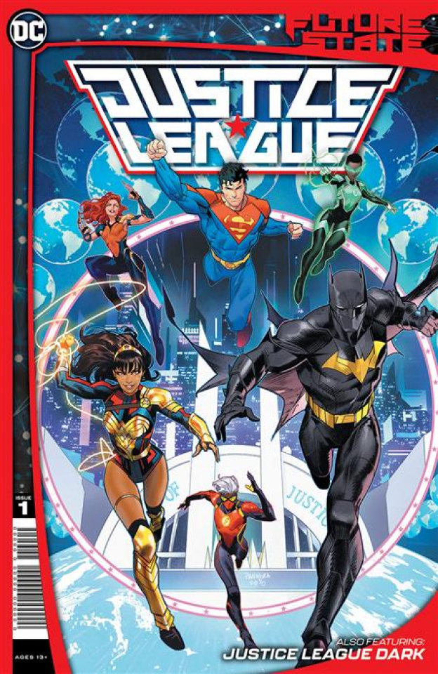 Future State: Justice League #1 (Dan Mora Cover)