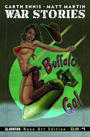 War Stories #1 (Good Girl Nose Art Cover)