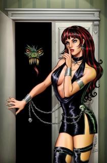 Grimm Fairy Tales: Grimm Tales of Terror #9 (Sanapo Cover)