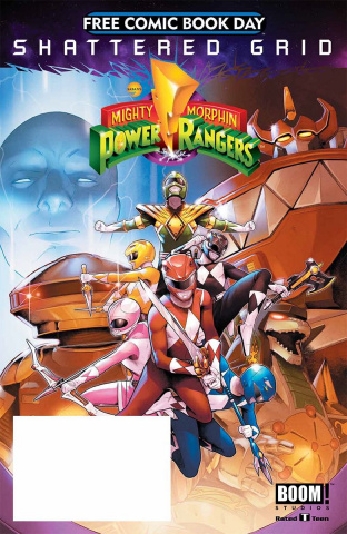 Mighty Morphin' Power Rangers FCBD 2018 Special