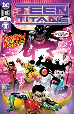Teen Titans #44 (Bernard Chang Cover)