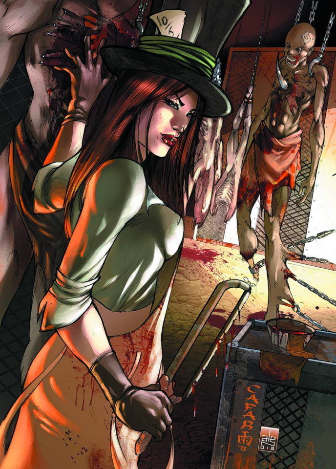 Grimm Fairy Tales: The Madness of Wonderland #4 (Cover B)