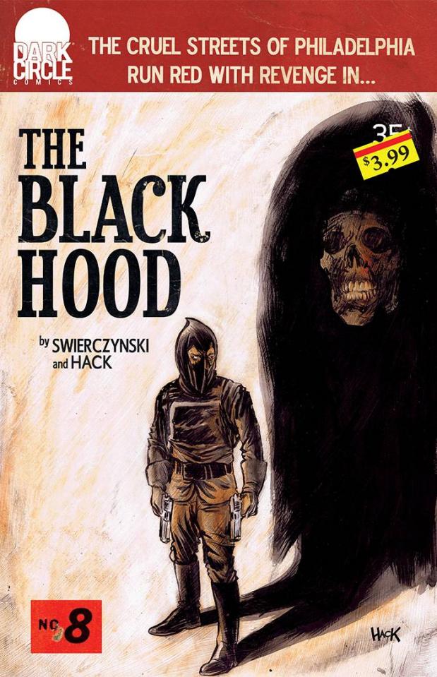 The Black Hood #8 (Mack Cover)