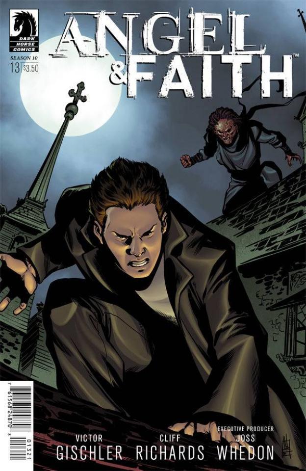 Angel and Faith, Season 10 #13 (Norton & Englert Cover)