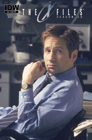 The X-Files, Season 10 #24 (Subscription Cover)