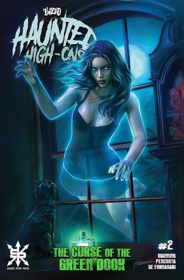 Twiztid: Haunted High-Ons - The Curse of the Green Book #2 (Cover B)