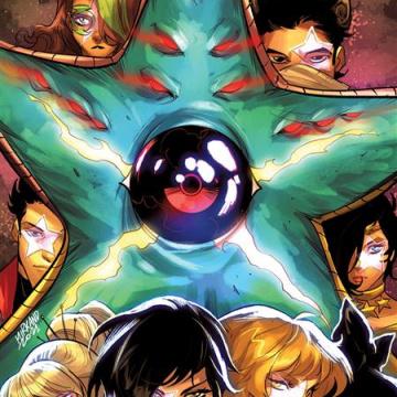 RWBY / Justice League #7 (Mirka Andolfo Cover)