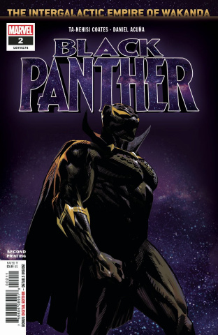 Black Panther #2 (Acuna 2nd Printing)
