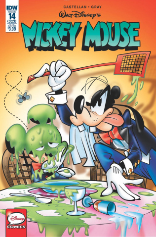 Mickey Mouse #14 (Subscription Cover)