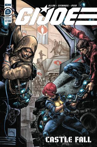 G.I. Joe: Castle Fall (Williams II Cover)
