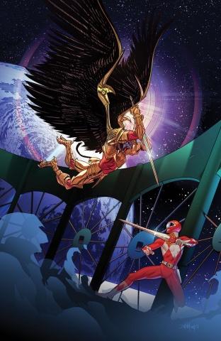 Mighty Morphin' Power Rangers #17 (30 Copy Mora Cover)