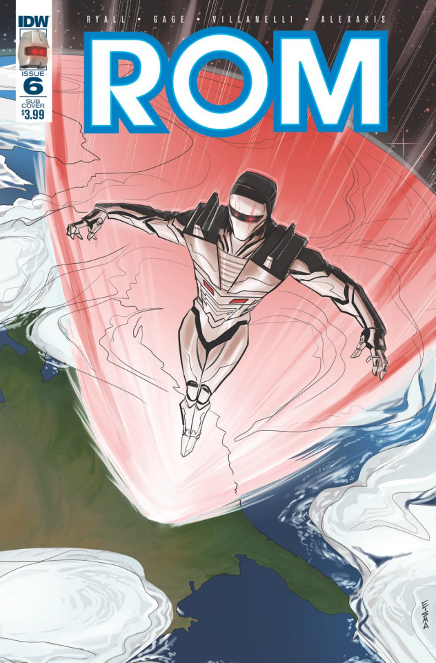 ROM #6 (Subscription Cover)