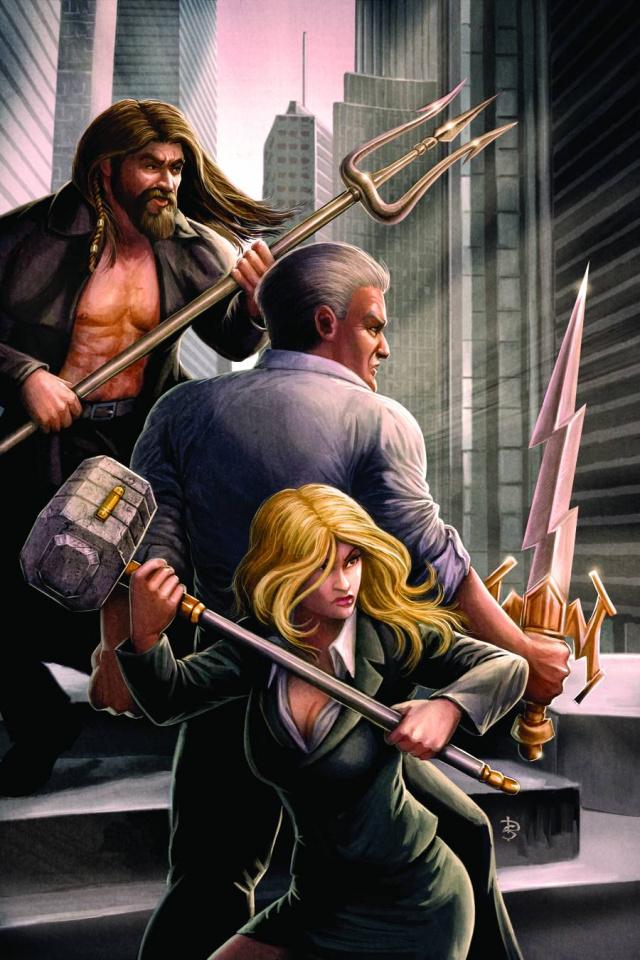 Godstorm #4 (Sirois Cover)