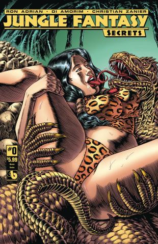 Jungle Fantasy: Secrets #0 (Queen Sasha Cover)