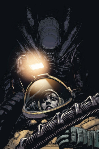Aliens: Resistance #2 (Jones Cover)