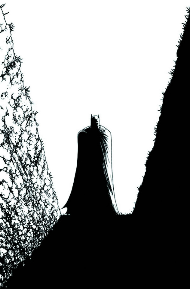 Batman Incorporated #9 (Black & White Cover)