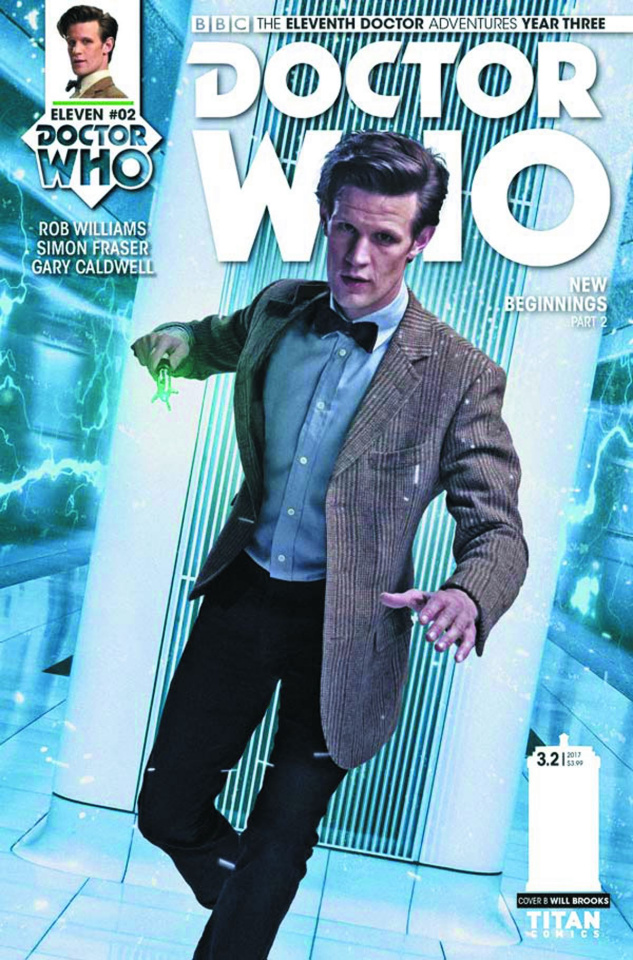 Doctor Who: New Adventures with the Eleventh Doctor, Year Three #2 (Photo Cover)