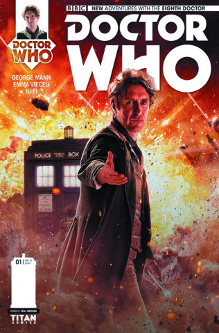 Doctor Who: New Adventures with the Eighth Doctor #5 (Photo Cover)