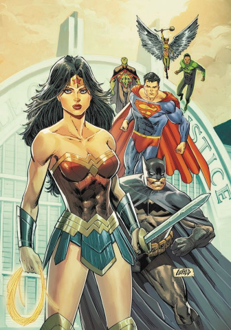 Justice League #19 (Variant Cover)