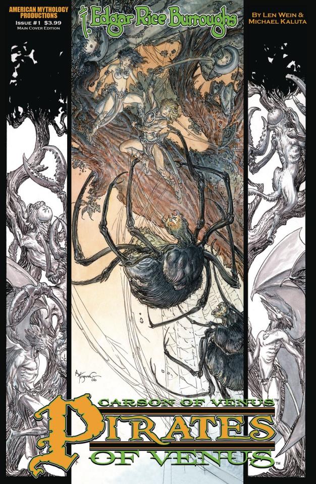 Carson of Venus #1 (Pirates of Venus Cover)