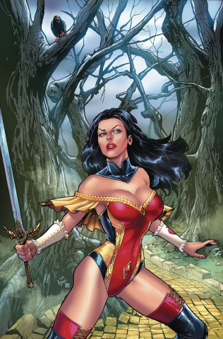 Grimm Fairy Tales #29 (Spay Cover)