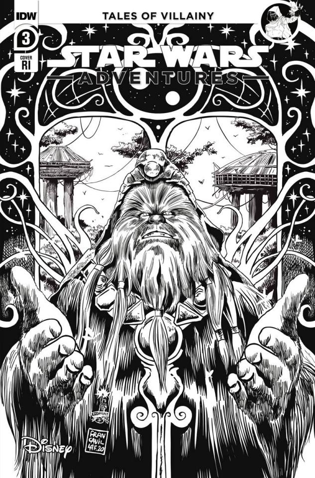 Star Wars Adventures #3 (10 Copy Francavilla Cover)