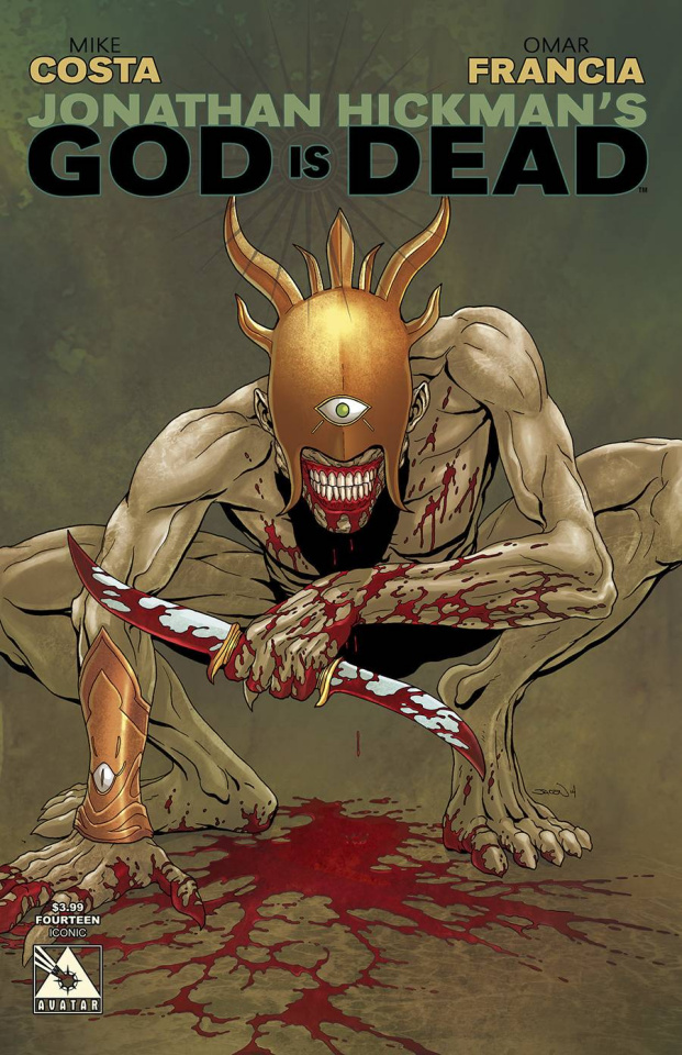 God Is Dead #14 (Iconic Cover)