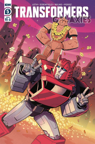 The Transformers: Galaxies #5 (10 Copy Malkova Cover)