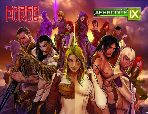 Aphrodite IX / Cyber Force #1 (Hawkins Cover)