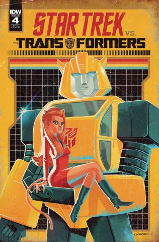 Star Trek vs. The Transformers #4 (10 Copy Caltsoudas Cover)