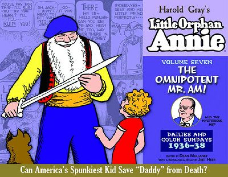 The Complete Little Orphan Annie Vol. 7