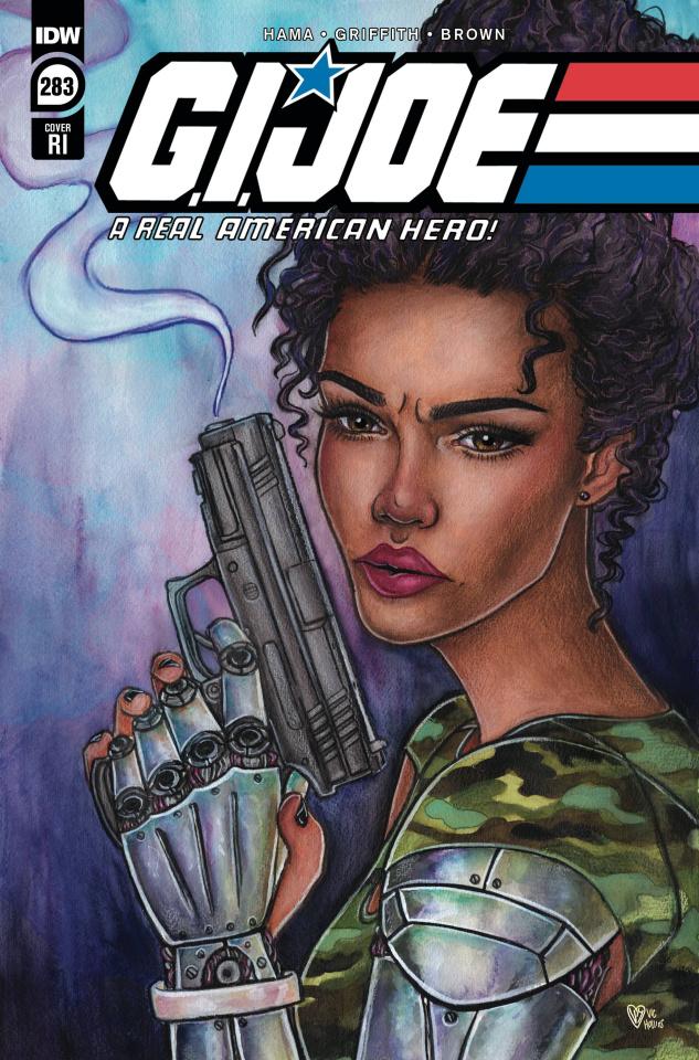 G.I. Joe: A Real American Hero #283 (15 Copy Hollins Cover)