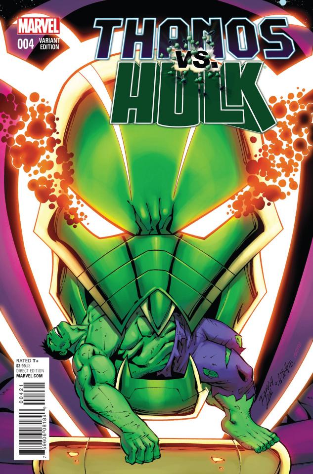 Thanos vs. Hulk #4 (Lim Cover)