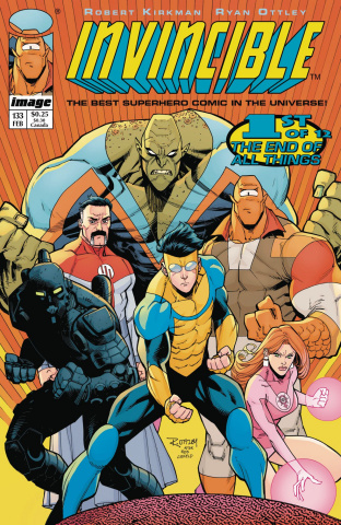 Invincible #133 (Image Tribute Cover)