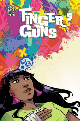 Finger Guns #5 (Hickman Cover)