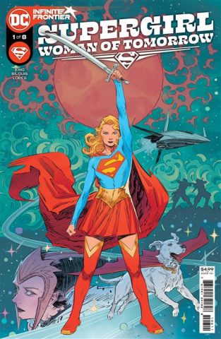 Supergirl: Woman of Tomorrow #1 (Bilquis Evely Cover)
