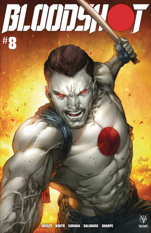 Bloodshot #8 (Bernard Cover)