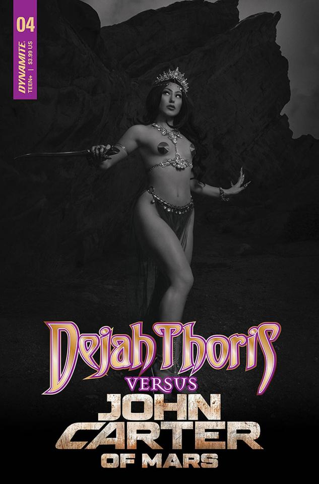 Dejah Thoris vs. John Carter of Mars #4 (20 Copy Cover)
