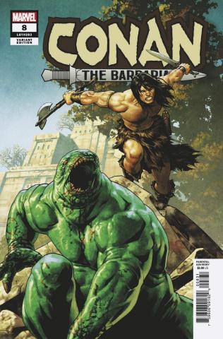 Conan the Barbarian #8 (Saiz Cover)