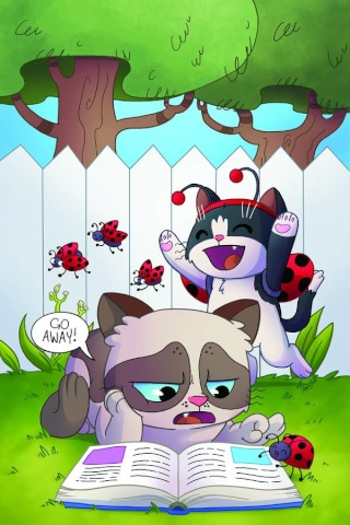 Grumpy Cat (and Pokey!) #1 (Rare Garbowska Virgin Cover)