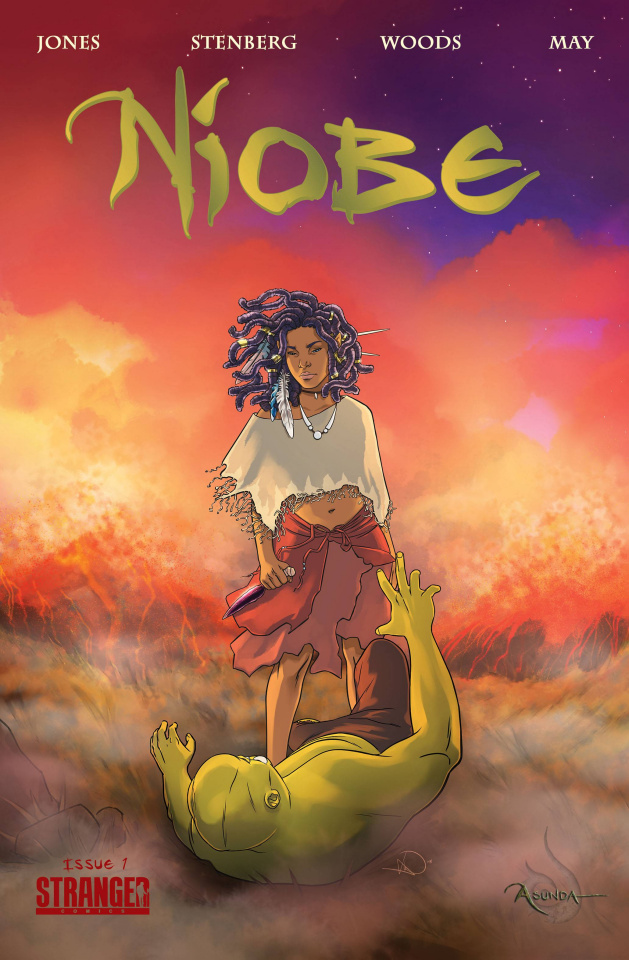 Niobe: She is Life #1 (Woods Cover)