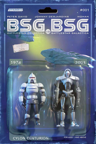 BSG vs. BSG #1 (Cylon Action Figure Cover)