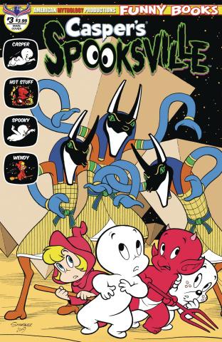 Casper's Spooksville #3 (Shanower Cover)