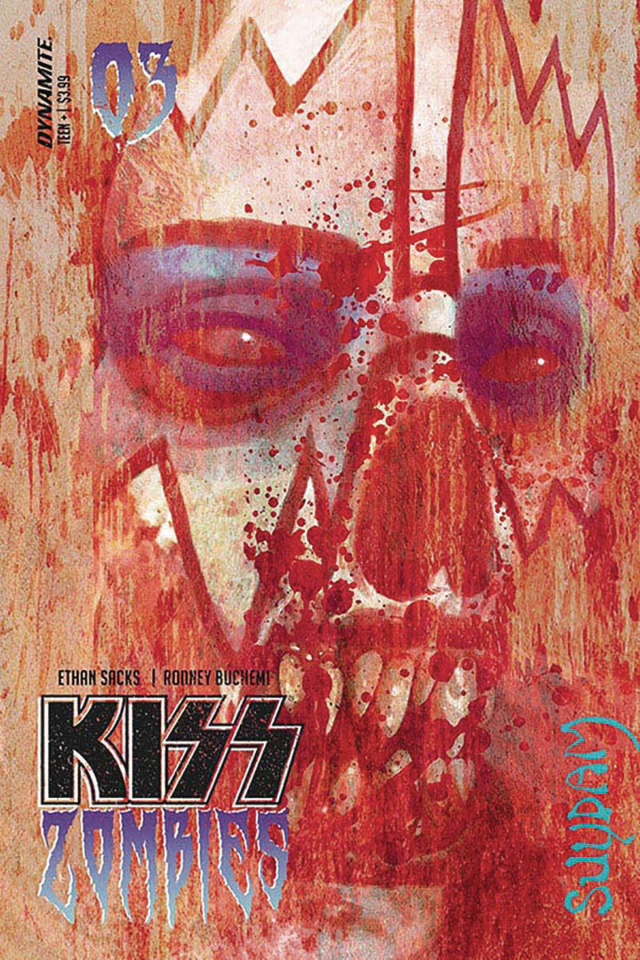 KISS: Zombies #3 (Suydam Cover)