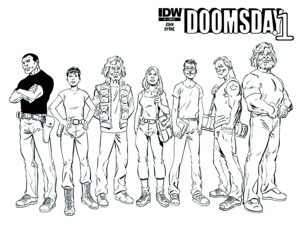 Doomsday.1 #1 (Subscription Cover)