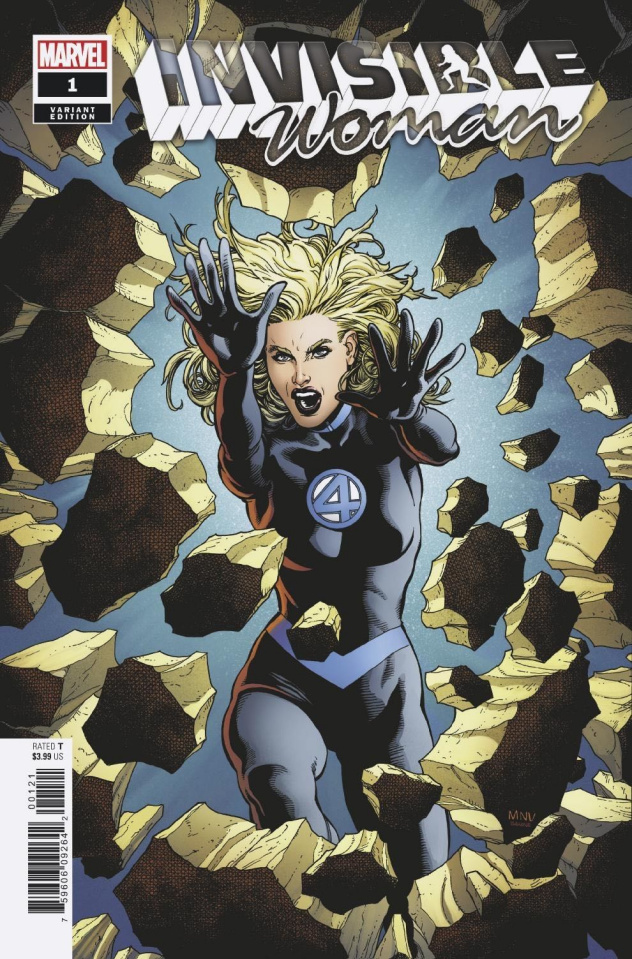 Invisible Woman #1 (McNiven Cover)