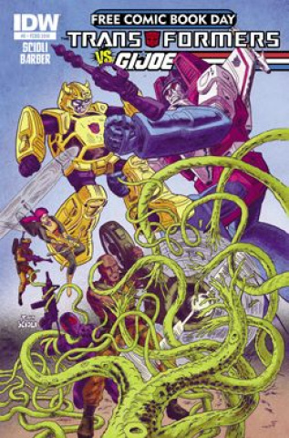 Transformers vs. G.I. Joe (Free Comic Book Day 2014)