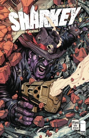 Sharkey, The Bounty Hunter #5 (McNiven Cover)