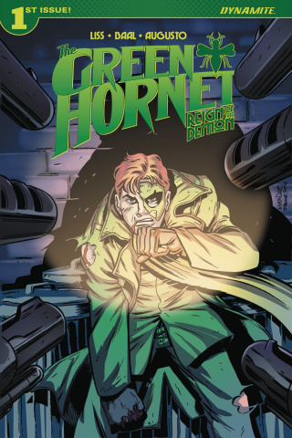 The Green Hornet: Reign of the Demon #1 (Marques Cover)