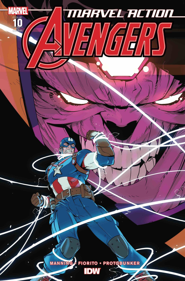 Marvel Action: Avengers #10 (10 Copy Claretti Cover)